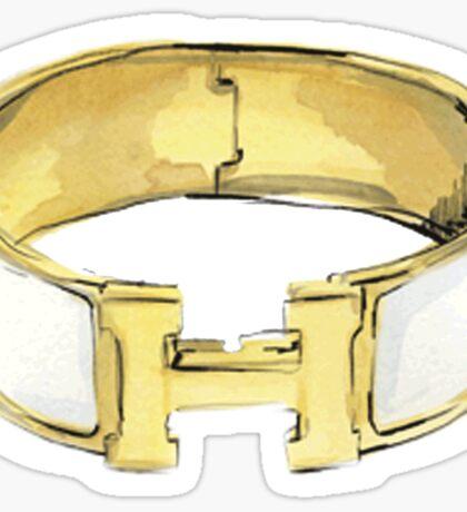Cuff gold Sticker