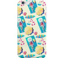 The Girl And The Beach iPhone Case/Skin