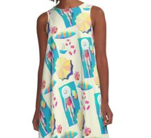 The Girl And The Beach A-Line Dress