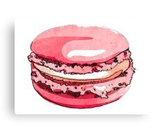 Love macarons #YUMMY Canvas Print