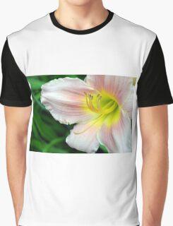 White hibiscus flower. Graphic T-Shirt