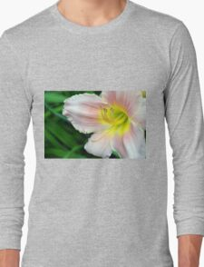 White hibiscus flower. Long Sleeve T-Shirt