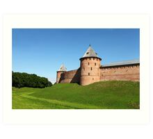 Fortress Novgorod Art Print