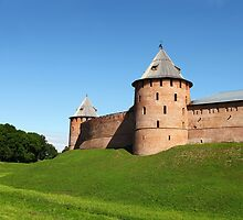 Fortress Novgorod by mrivserg