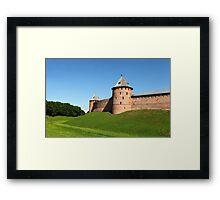 Fortress Novgorod Framed Print