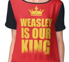 Weasley is Our King  Chiffon Top