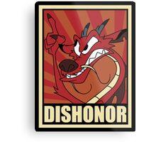 Dishonor Metal Print