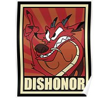 Dishonor Poster
