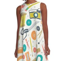 Create It And Post It  A-Line Dress