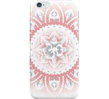 Yoga Mandala Henna Ornate Ohm Pink iPhone Case/Skin