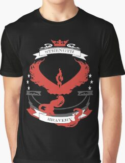 Pokemon Go Team Valor Revision Graphic T-Shirt