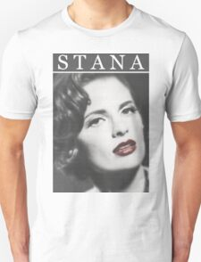 Stana Katic as Marilyn Monroe Unisex T-Shirt