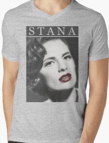 Stana Katic as Marilyn Monroe Mens V-Neck T-Shirt