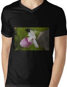 orchid in the garden Mens V-Neck T-Shirt