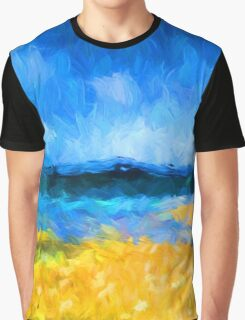 View of the Island Graphic T-Shirt