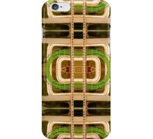 wire matrix collage iPhone Case/Skin