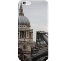 St. Paul's and Millenium Bridge iPhone Case/Skin
