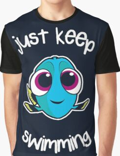 Keep swimming Graphic T-Shirt