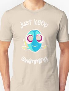 Keep swimming Unisex T-Shirt