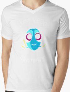 Keep swimming Mens V-Neck T-Shirt