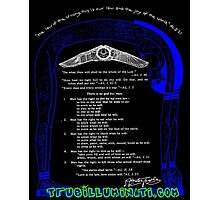 Liber Oz Thelema Aliester Crowley Thelemic Philosophy Book of the Law Illuminati Photographic Print