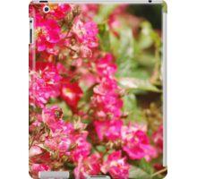 Bumble Bee Flowers iPad Case/Skin