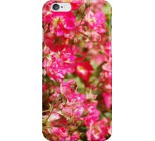 Bumble Bee Flowers iPhone Case/Skin