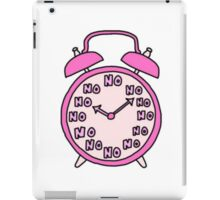 Tumblr Alarm Clock iPad Case/Skin