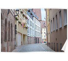 Quiet Empty Street Poster