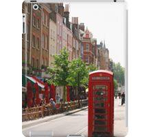 London Telephone Booth iPad Case/Skin