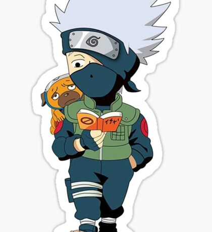 Kakashi Pakkun Sticker