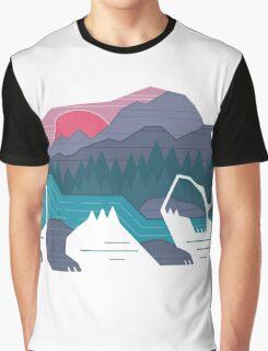Natural bear Graphic T-Shirt