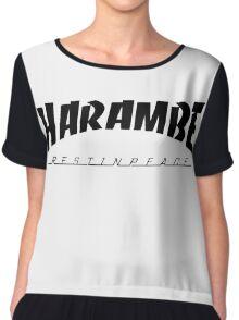R.I.P Harambe Chiffon Top