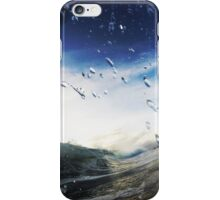 Cold beach morning iPhone Case/Skin