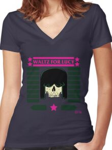 The Loud House - Waltz For Lucy Women's Fitted V-Neck T-Shirt