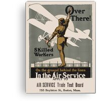 Vintage poster - Air Service Trade Test Board Canvas Print