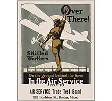 Vintage poster - Air Service Trade Test Board Photographic Print