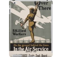 Vintage poster - Air Service Trade Test Board iPad Case/Skin