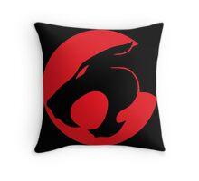 Thundercats movie cartoon logo Throw Pillow