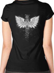 Winged backbone Women's Fitted Scoop T-Shirt