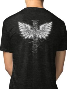 Winged backbone Tri-blend T-Shirt