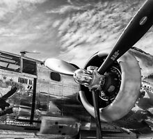 B-25 Mitchell Bomber (WWII) Yankee Warrior by Mike Koenig