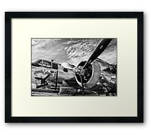 B-25 Mitchell Bomber (WWII) Yankee Warrior Framed Print