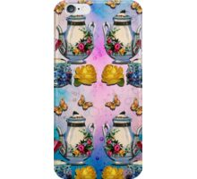 TEA PARTY PATTERN iPhone Case/Skin