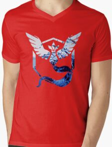 Team Mystic Pokemon Go Elements Mens V-Neck T-Shirt
