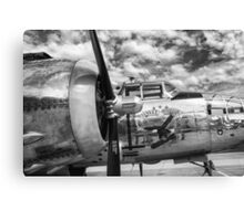 B-25 Mitchell Bomber - WWII, Yankee Warrior Canvas Print