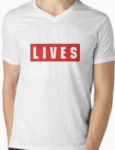 black live matter Mens V-Neck T-Shirt