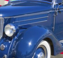 1936 Ford Phaeton Convertible With American Flag  Sticker