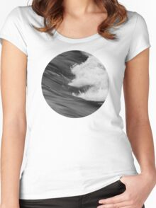 Smooth turbulence Women's Fitted Scoop T-Shirt