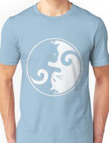 YIN YANG CAT Unisex T-Shirt
